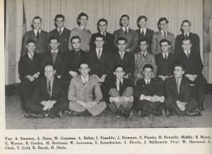 Mechanical Engineering Class of 1940 in 1938