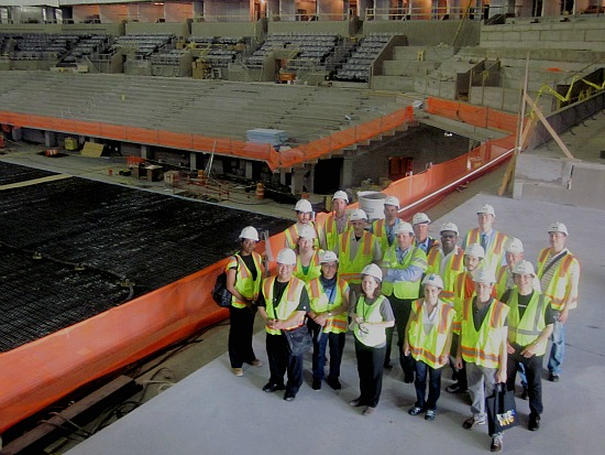 6-2012 CUAA Newsletter Pic barclay center