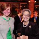 Karina Tipton CE'99 and Mina Greenstein A'56