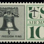 Air Mail Stamp designed by Herb Lubalin