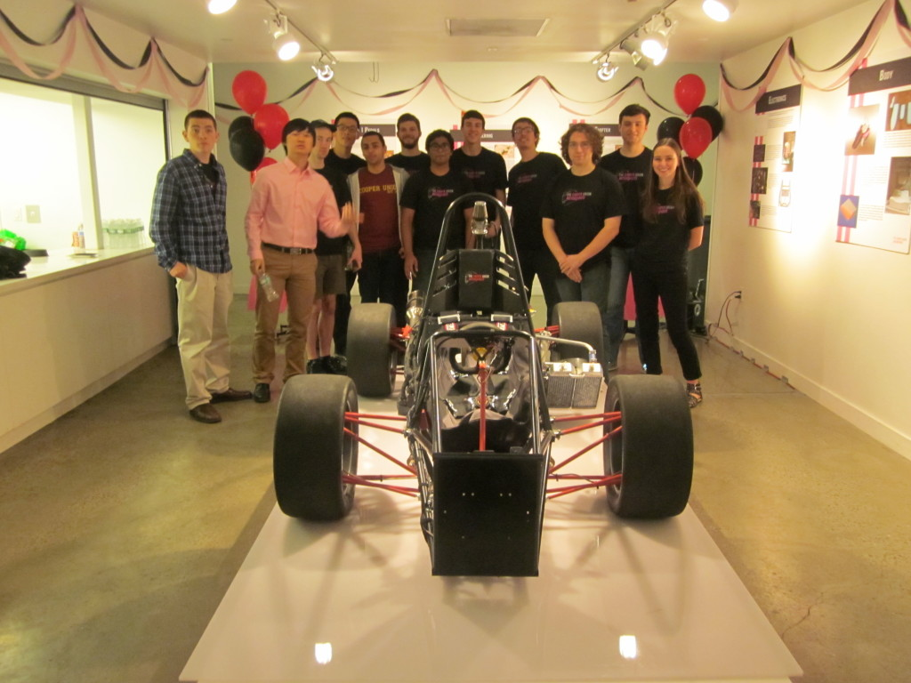 CU Motorsports Team with Car #86