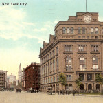 An early 20th-century postcard of Cooper Union. (via RollingRck/Flickr)