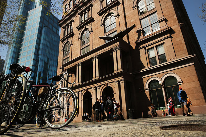 A settlement crafted by the attorney general, expected to be announced Wednesday, will assign a monitor to oversee finances at Cooper Union. Credit Spencer Platt/Getty Images