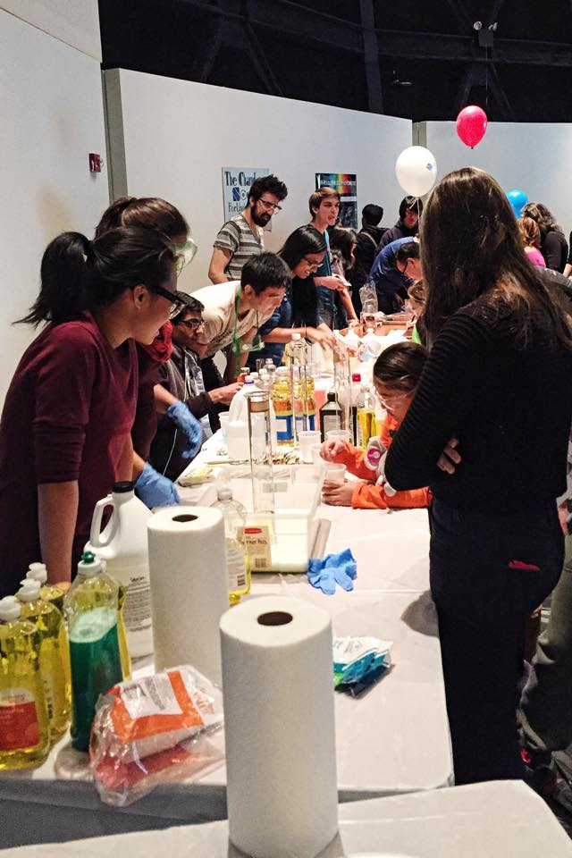 Cooper Union Students Assist with experiments