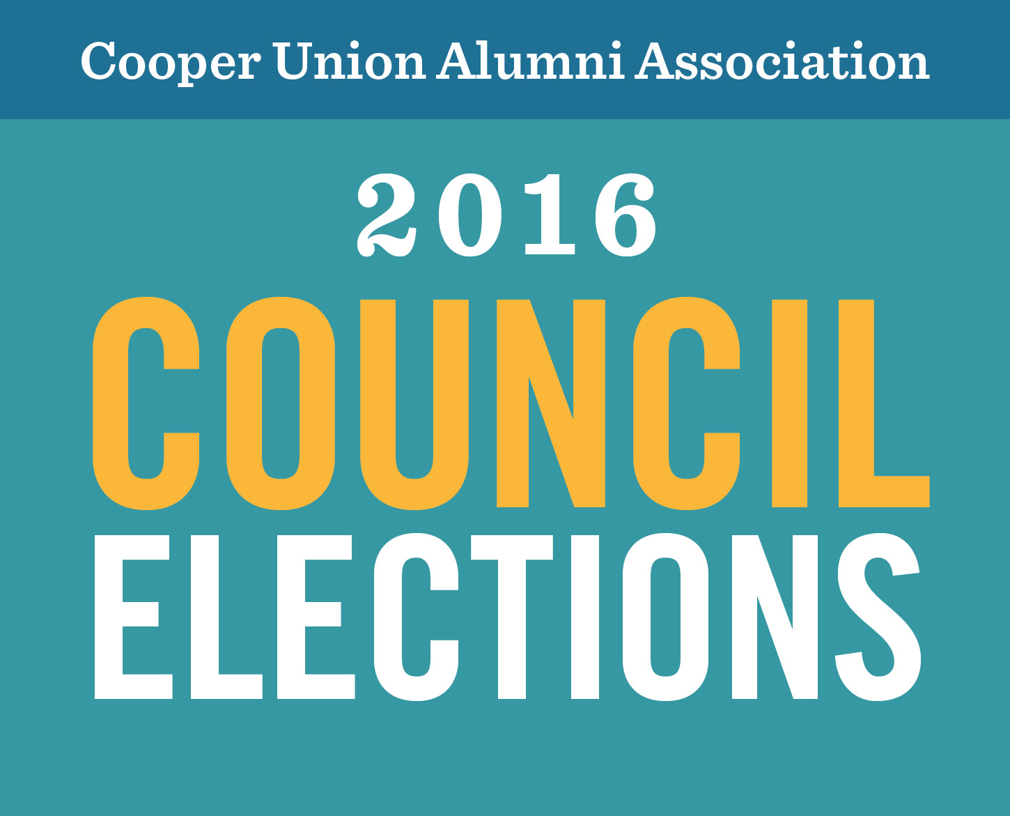 Category Elections  >> Cooper Union Alumni Association Category Election Page 2