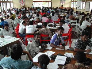 Rich Gnagey Barefoot Engineers Training class in Papua
