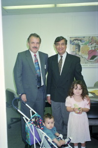 Rich Gnagey Meeting Chairman of Civil in 1995