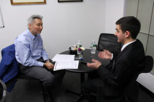 Fall 2016 Mock Interview Night with Darrell