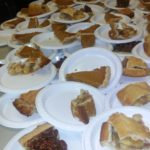 pie served at 2016 Harvest Festival